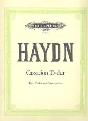 Cassation D-Dur Hob. 4 : d2 -Flöte, Violine u. Bc - laflutedepan.com