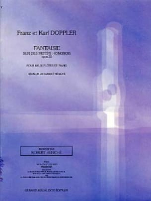 Franz Doppler - Fantasy on Hungarian Motifs Op. 35 - Partition - di-arezzo.com