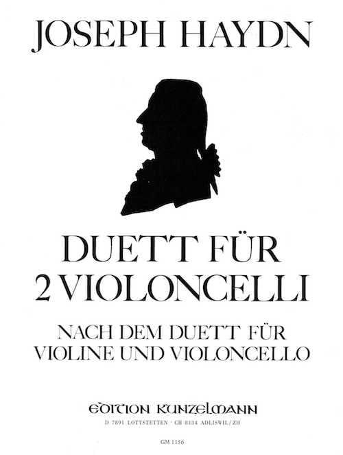Duett - HAYDN - Partition - Violoncelle - laflutedepan.com