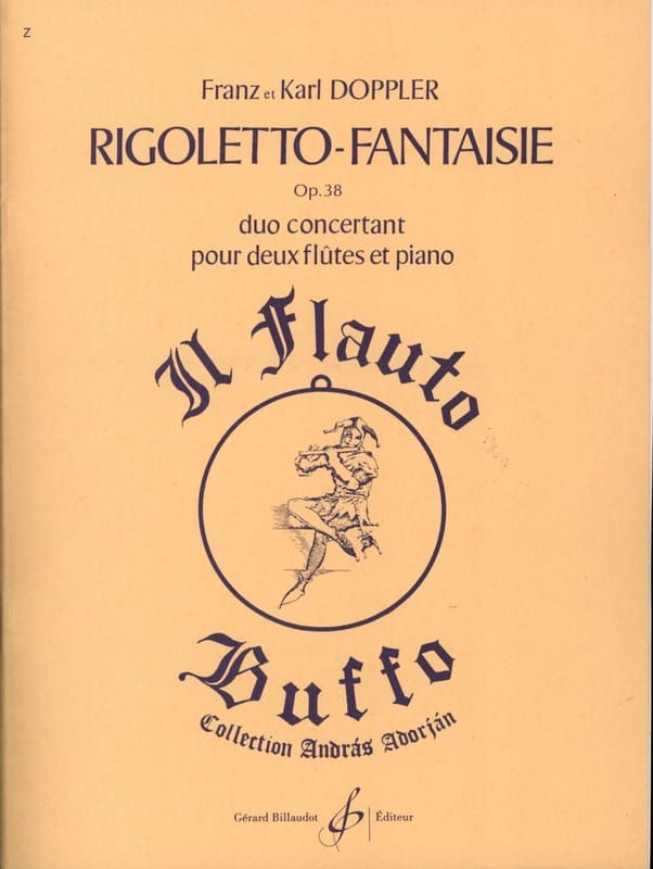 Rigoletto Fantaisie op. 38 - laflutedepan.com