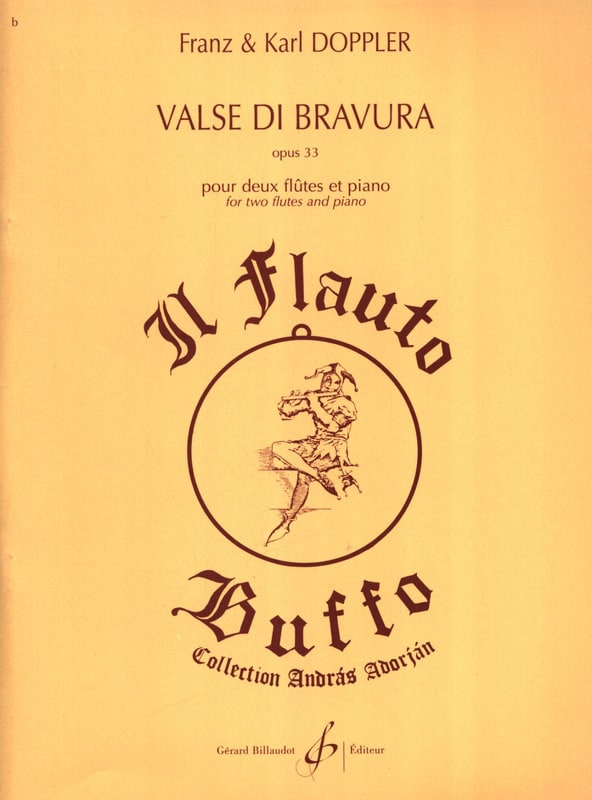 Valse Di Bravura Op. 33 - Albert Franz Doppler - laflutedepan.com