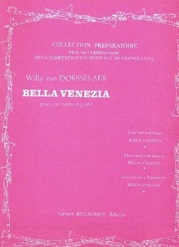Willy van Dorsselaer - Bella Venezia - Partition - di-arezzo.co.uk