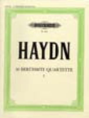 Streichquartette Bd. I - HAYDN - Partition - laflutedepan.com