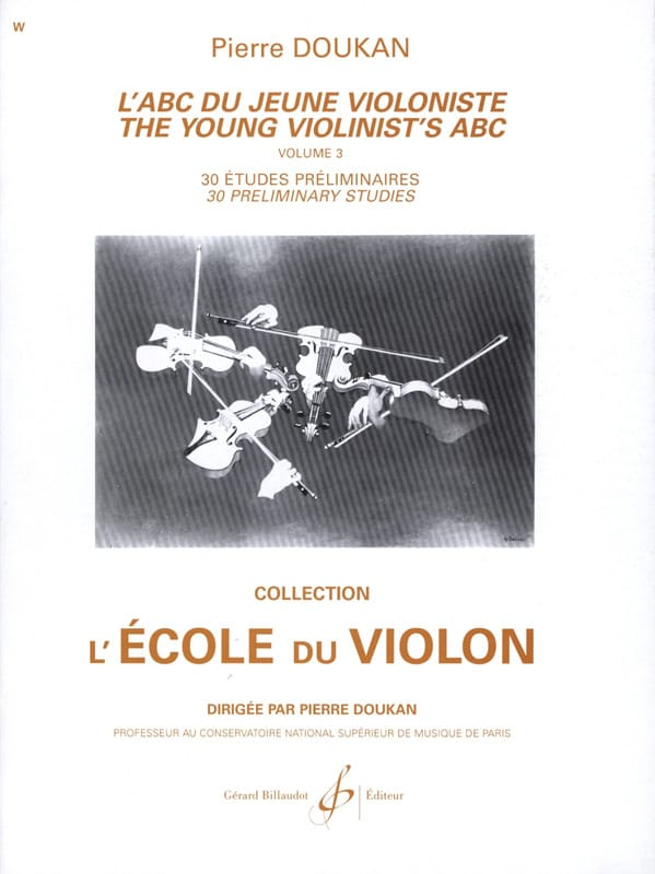Pierre Doukan - The Abc of the Young Violinist Volume 3 - Partition - di-arezzo.co.uk