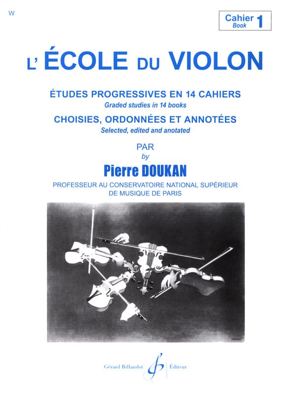 Pierre Doukan - The Violin School Volume 1 - Partition - di-arezzo.co.uk