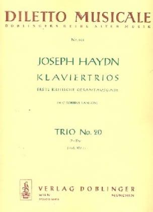 Klaviertrio Nr. 20 D-Dur Hob. 15 : 7 -Stimmen - laflutedepan.com