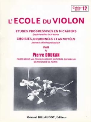 Pierre Doukan - The Violin School Volume 12 - Partition - di-arezzo.co.uk