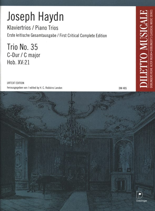 HAYDN - Klaviertrio Nr. 35 C-Dur Hob. 15: 21 - Stimmen - Partition - di-arezzo.co.uk