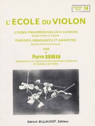 Pierre Doukan - The Violin School Volume 14 - Partition - di-arezzo.co.uk