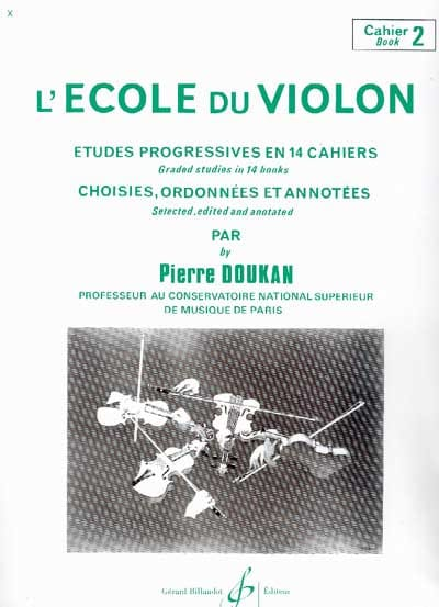 Pierre Doukan - The Violin School Volume 2 - Partition - di-arezzo.co.uk