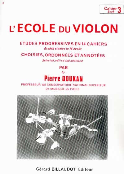 Pierre Doukan - The Violin School Volume 3 - Partition - di-arezzo.co.uk