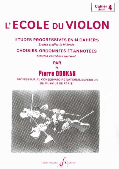 Pierre Doukan - The Violin School Volume 4 - Partition - di-arezzo.co.uk