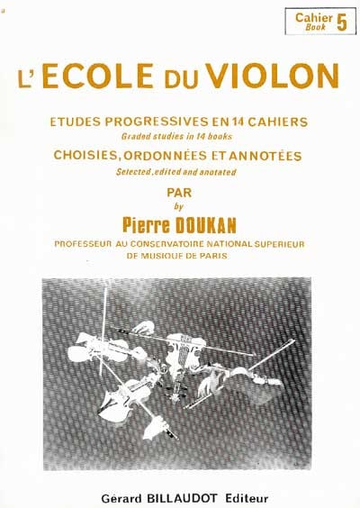 Pierre Doukan - The Violin School Volume 5 - Partition - di-arezzo.co.uk