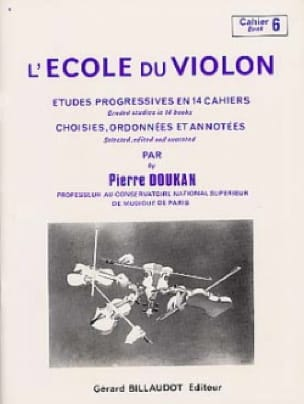 Pierre Doukan - The Violin School Volume 6 - Partition - di-arezzo.co.uk