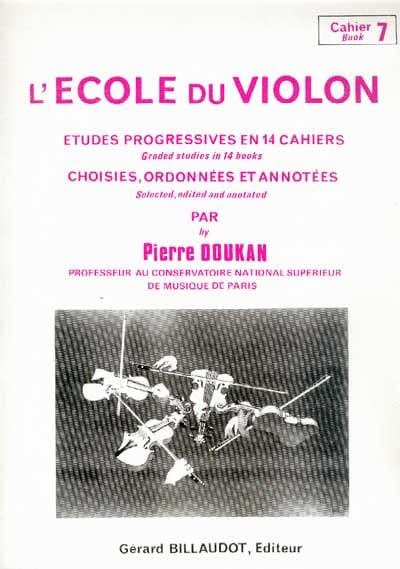 Pierre Doukan - The Violin School Volume 7 - Partition - di-arezzo.co.uk