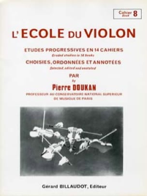 Pierre Doukan - The Violin School Volume 8 - Partition - di-arezzo.co.uk