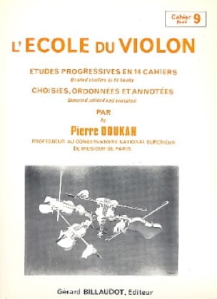 Pierre Doukan - The Violin School Vol. 9 - Partition - di-arezzo.co.uk