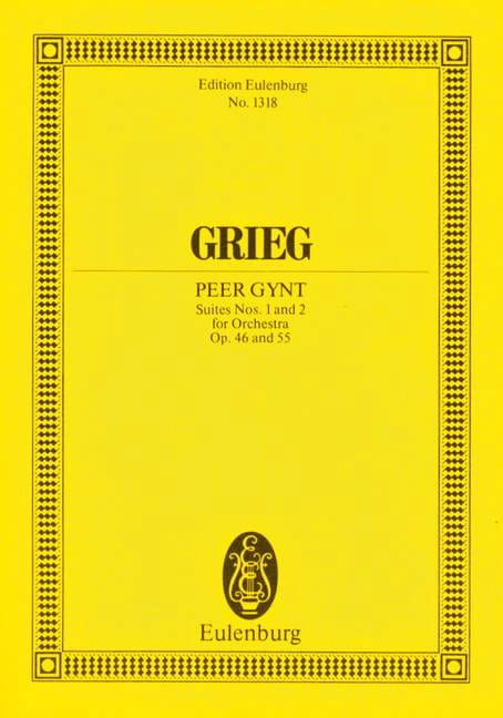 Edvard Grieg - Peer-Gynt Suites 1 - 2 - Partition - di-arezzo.it
