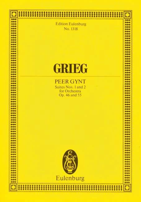 Peer-Gynt Suites 1 & 2 - GRIEG - Partition - laflutedepan.com