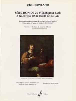 John Dowland - Selection of 26 pieces for lute - Volume 2 - Partition - di-arezzo.com