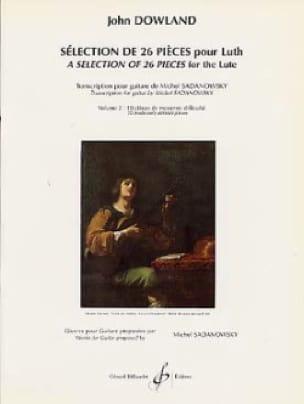 Selection de 26 pièces pour luth - Volume 2 - laflutedepan.com