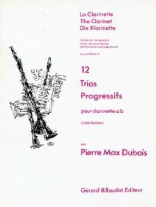 Pierre-Max Dubois - 12 Progressive Trios - Partition - di-arezzo.com