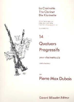 Pierre-Max Dubois - 14 Progressive Quatuors - Partition - di-arezzo.com