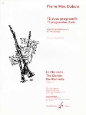Pierre-Max Dubois - 15 Progressive Duos - Partition - di-arezzo.com