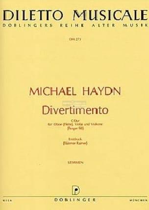 Divertimento C-Dur - Oboe Flöte Viola Violone - laflutedepan.com