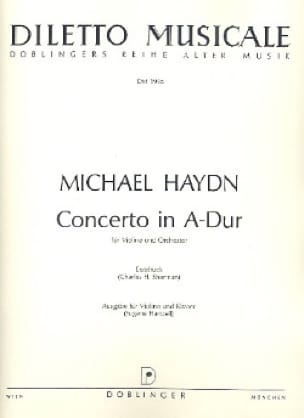Concerto en la Majeur - Michael HAYDN - Partition - laflutedepan.com