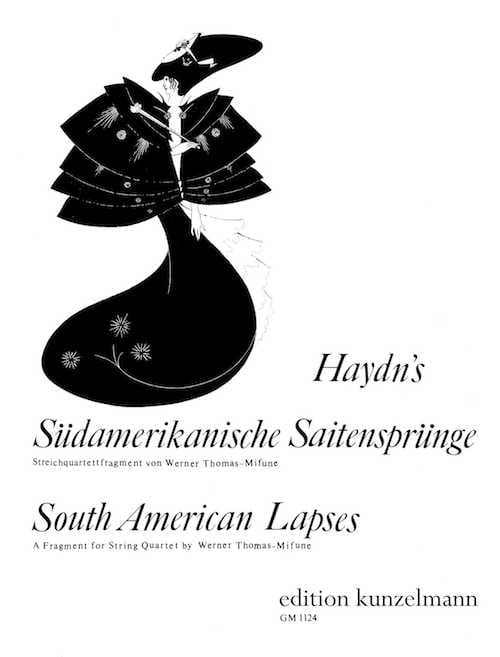 HAYDN - South American Lapses - String Quartet - Partition - di-arezzo.co.uk