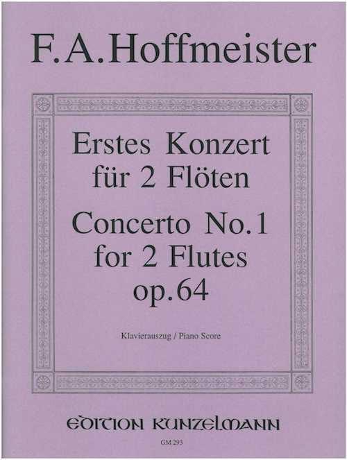 Konzert Nr. 1 für 2 Flöten op. 64 - 2 Flöten Klavier - laflutedepan.com