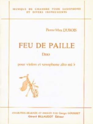 Feu de paille - Pierre-Max Dubois - Partition - laflutedepan.com