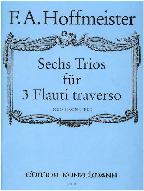 6 Trios - 3 Flöten - HOFFMEISTER - Partition - laflutedepan.com