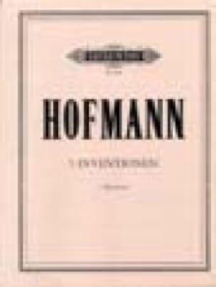 5 Inventionen - 2 Klarinetten - Wolfgang Hofmann - laflutedepan.com