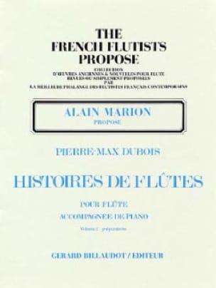 Histoires de flûtes - Volume 2 - Pierre-Max Dubois - laflutedepan.com