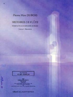 Histoires de flûtes - Volume 3 - Pierre-Max Dubois - laflutedepan.com