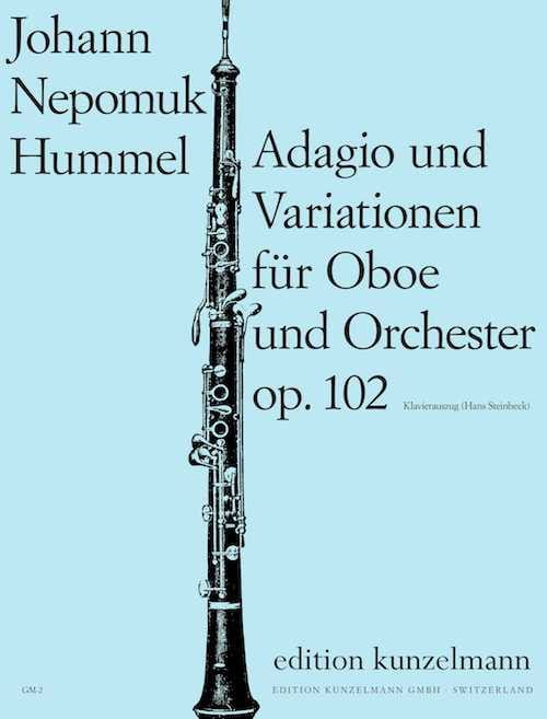 HUMMEL - Adagio und Variationen op. 102 - Partition - di-arezzo.co.uk