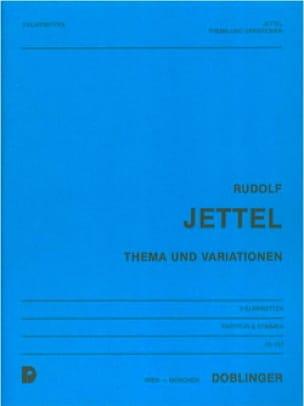 Thema und Variationen -Partitur + Stimmen - laflutedepan.com