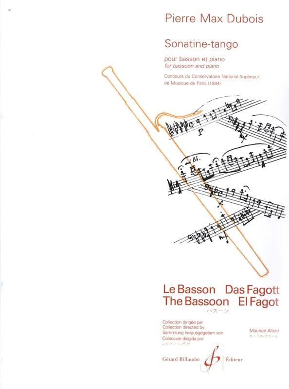 Sonatine Tango - Pierre-Max Dubois - Partition - laflutedepan.com