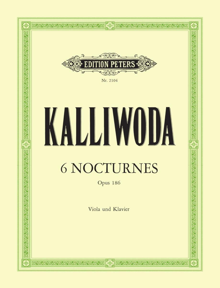 6 Nocturnes op. 186 - laflutedepan.com