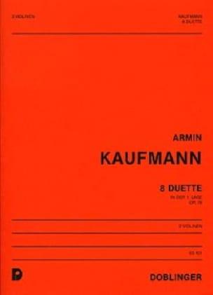 8 Duette op. 76 - Armin Kaufmann - Partition - laflutedepan.com