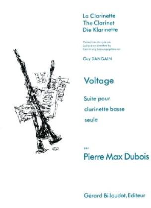 Voltage - Pierre-Max Dubois - Partition - laflutedepan.com