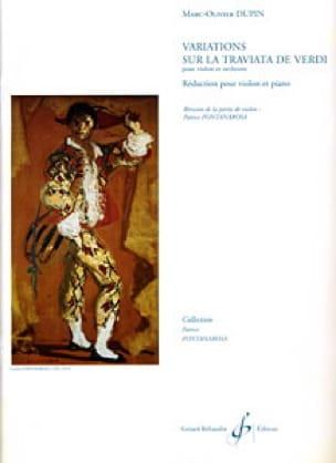 Marc-Olivier Dupin - Variations on La Traviata by Verdi - Partition - di-arezzo.com