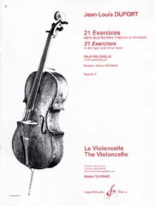 Jean Louis Duport - 21 Exercices Pour Violoncelle Volume 2 - Partition - di-arezzo.fr