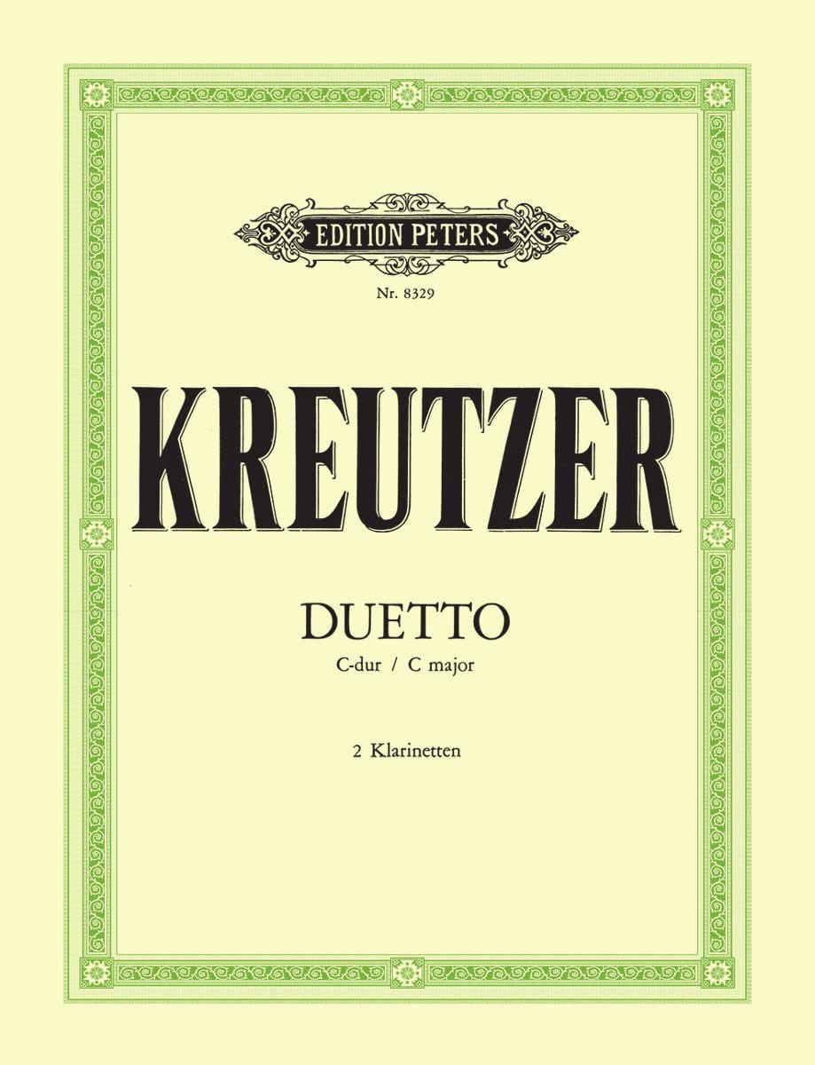 Duetto C-Dur - 2 Klarinetten - Conradin Kreutzer - laflutedepan.com