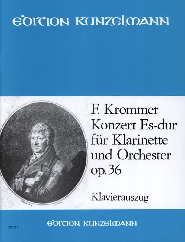 Franz Krommer - Concerto Op. 36 in Eb Major - Partition - di-arezzo.co.uk
