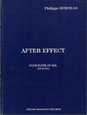 After effect - Philippe Durville - Partition - laflutedepan.com
