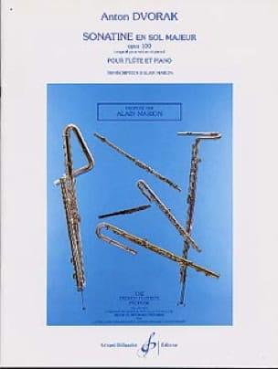 Sonatine en Sol Majeur Op. 100 - DVORAK - Partition - laflutedepan.com