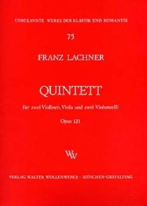 Streichquintett op. 121 -Stimmen - Franz Lachner - laflutedepan.com